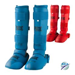 Pride karate shin and foot protectors