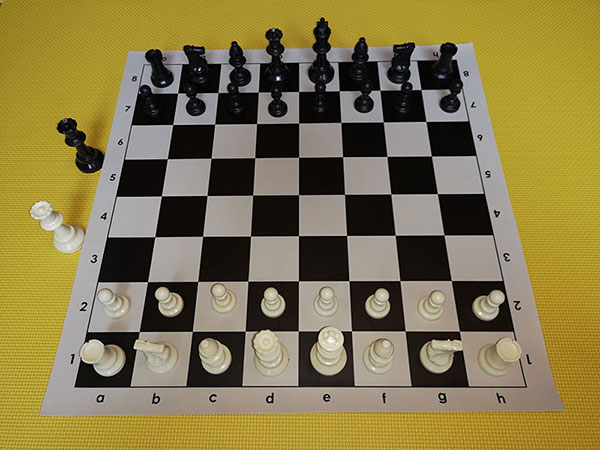 Chess set - black