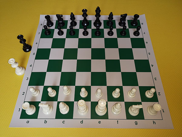 Chess set - green